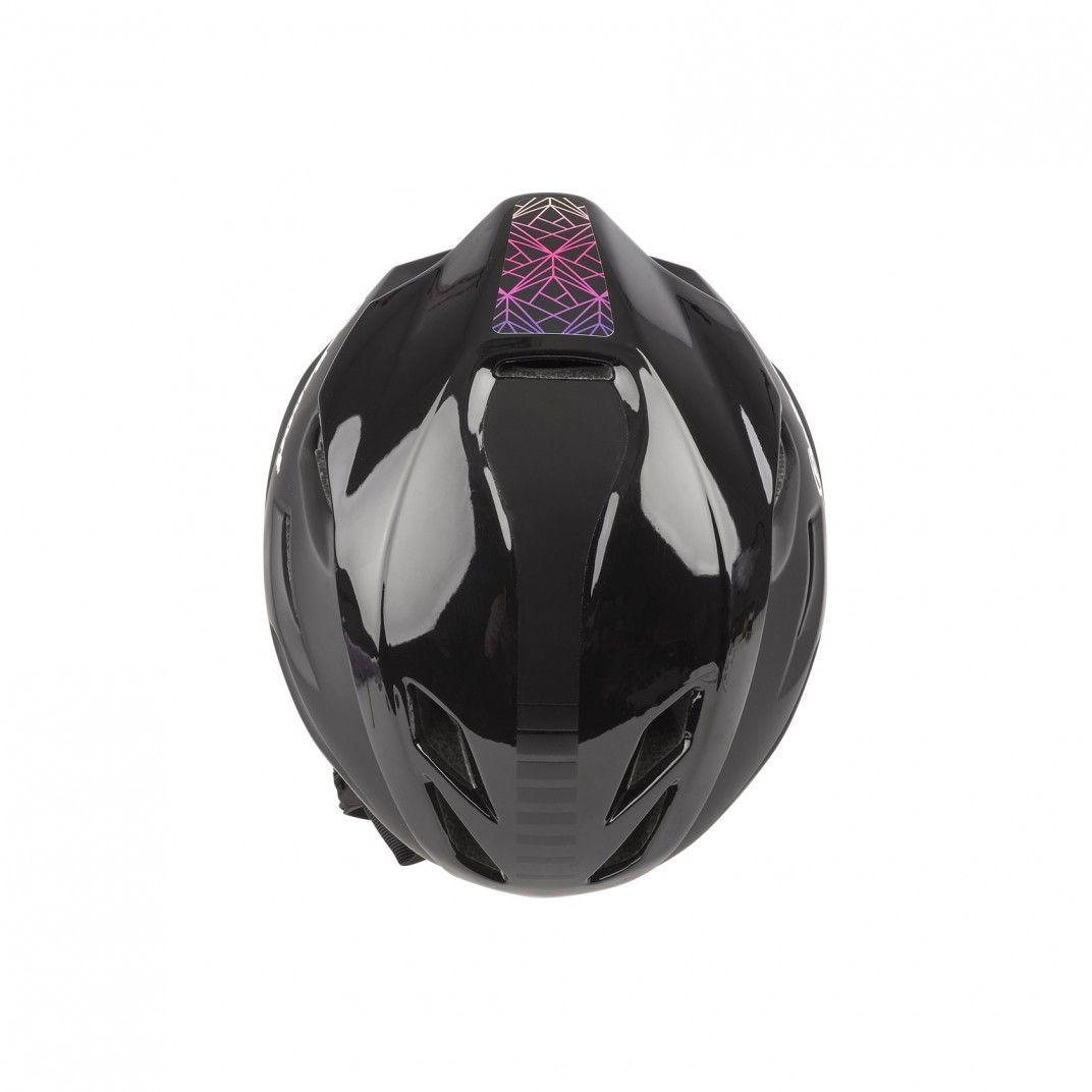 Aero R. - Fahrradhelm für Straßenradfahren Schwarz und Violette - Größe M