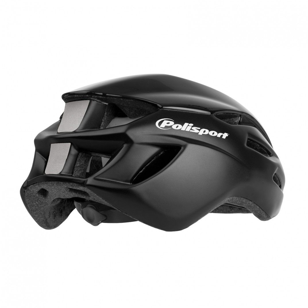Aero R. - Casco de Bicicleta para Ciclismo Negro - Talla L