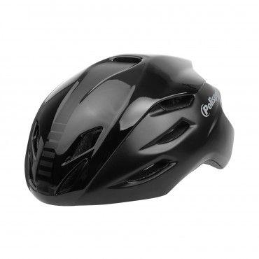 Aero R. - Casco de Bicicleta para Ciclismo Negro - Talla M