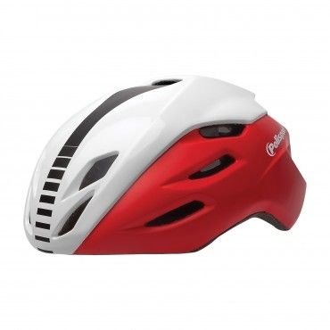 Aero R - Road Helmet Red and White - M Size