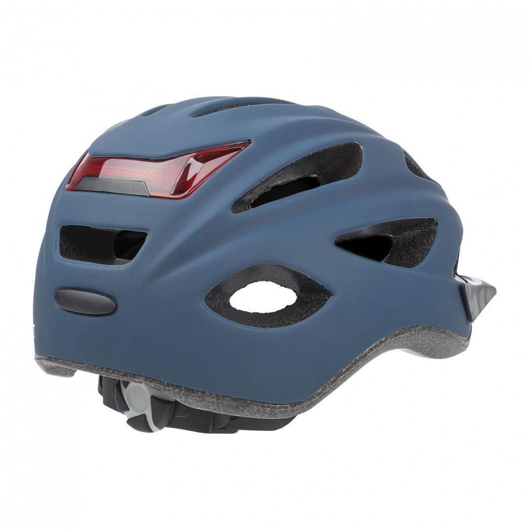 City'Go - City Helmet with Rear Led Light Blue - M Size