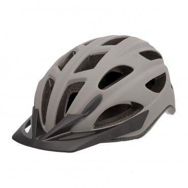City'Go - City Helmet with Rear Led Light Charcoal Grey - L Size