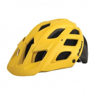 E3 - MTB Extreme and Enduro Helmet Yellow and Black - L Size