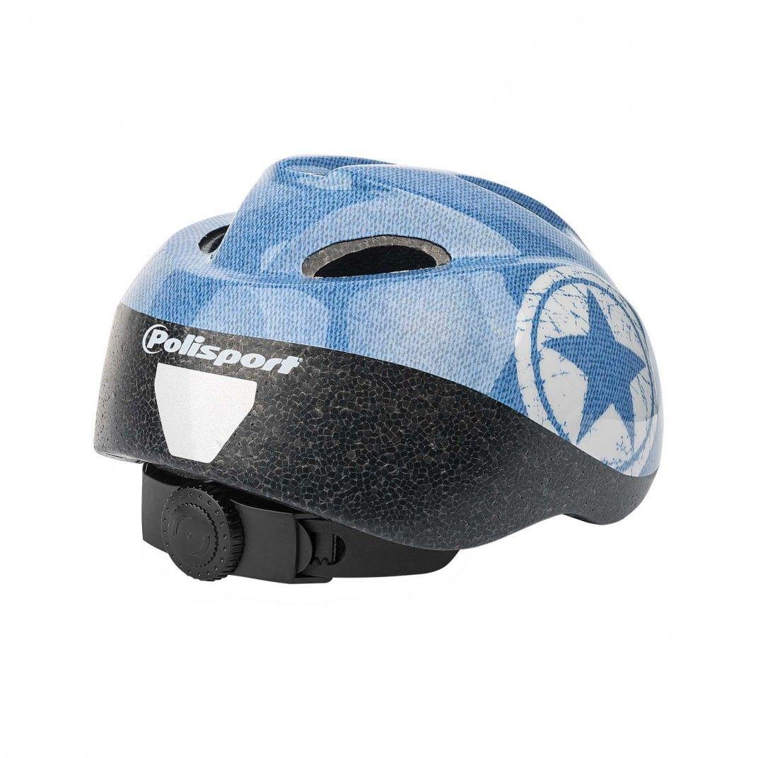 Junior - Fahrrad Kinderhelm Blau