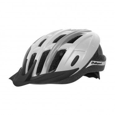 Ride In - Fahrradhelm MTB und Trekking Weiß und Grau - Größe L