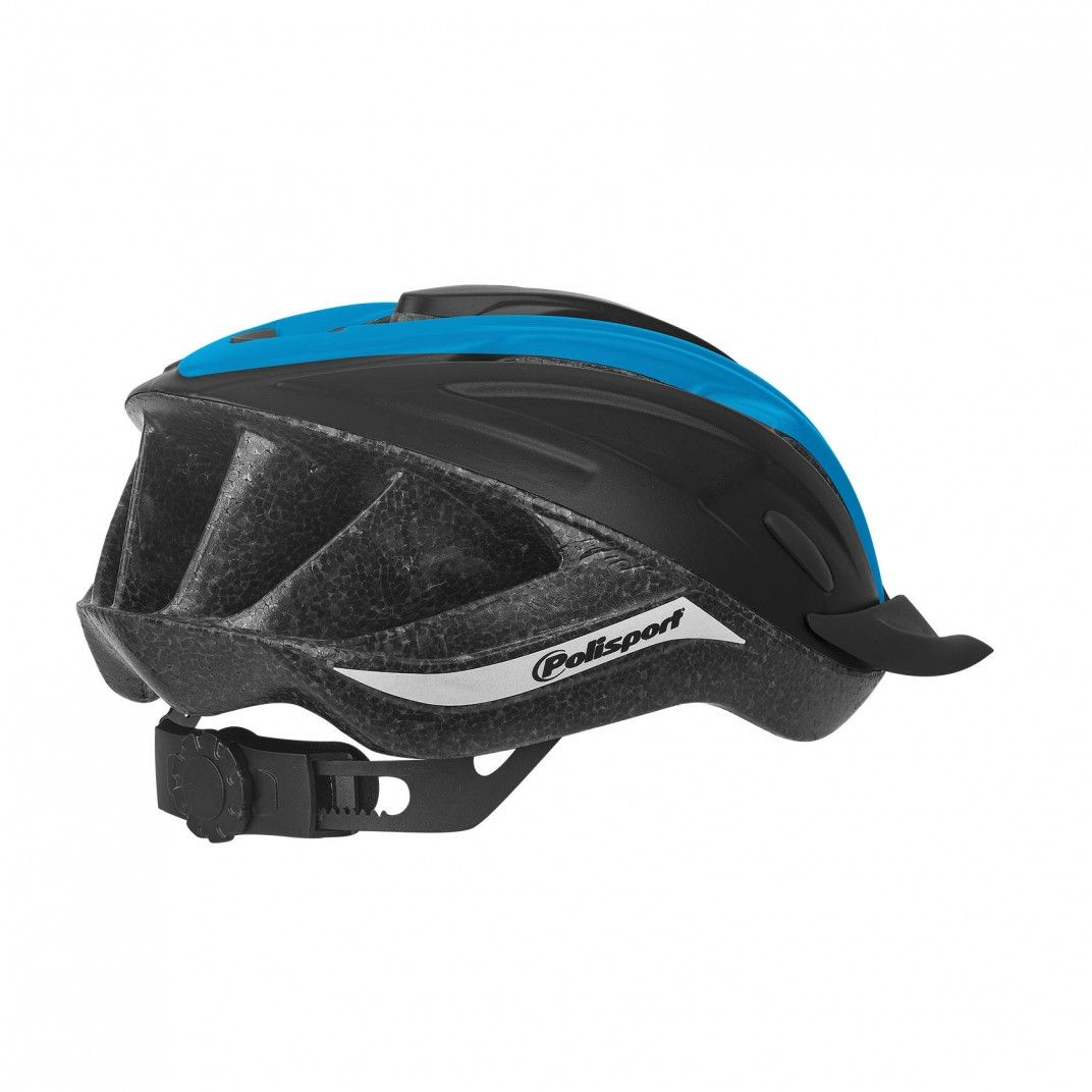 Ride In - Fahrradhelm MTB und Trekking Schwarz und Blau - Größe M