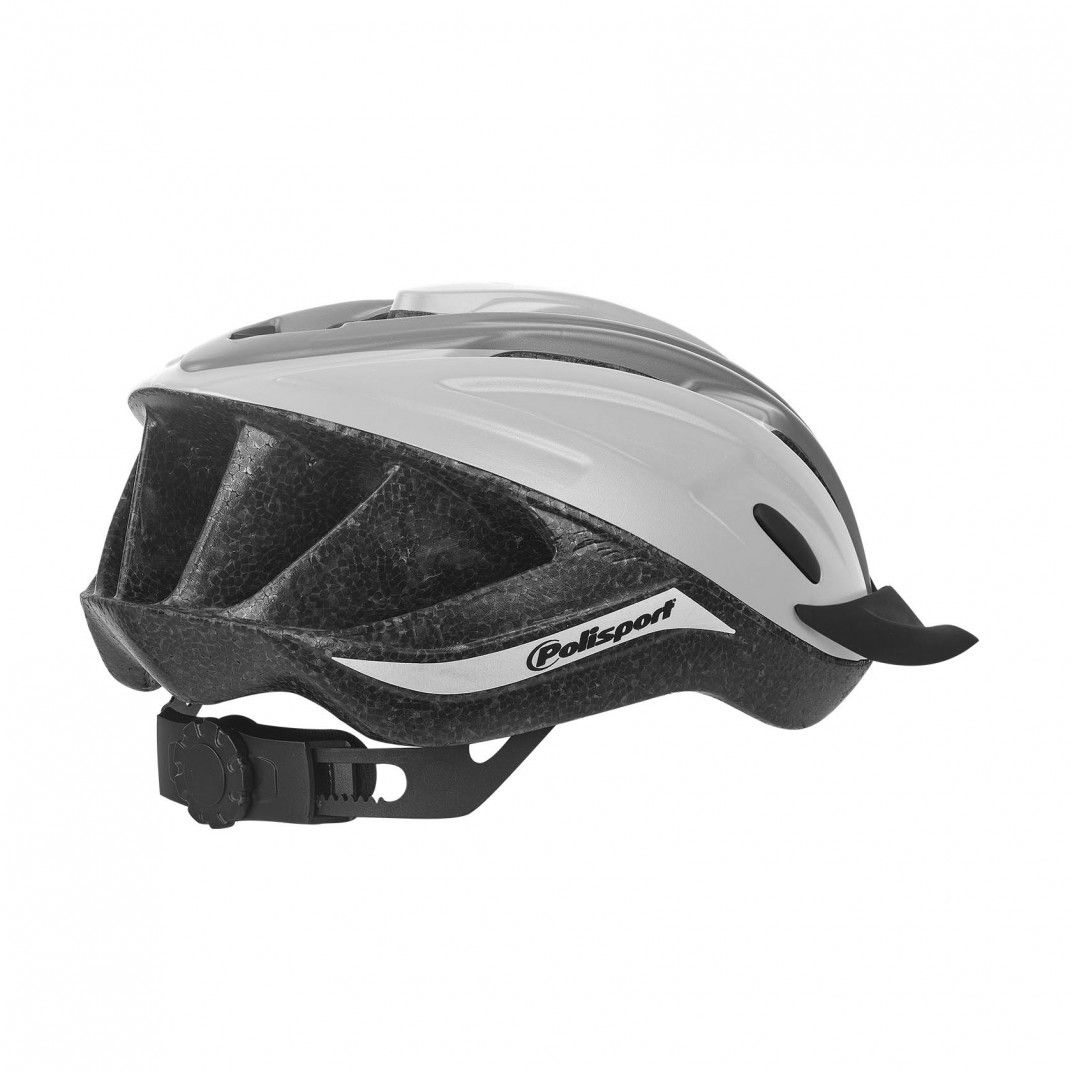 Ride In - Bicycle Helmet for Trekking and MTB White and Grey - M Size