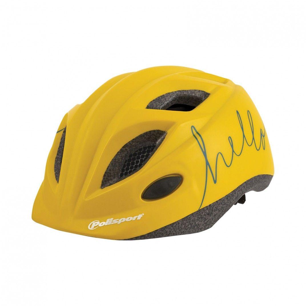 S Junior Premium - Casco per Bicicletta Giallo