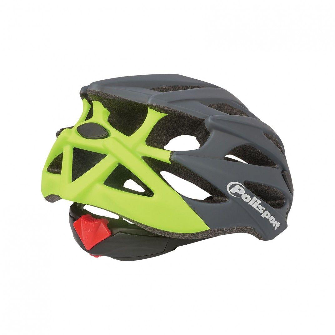 Twig - Fahrradhelm für den Straßen und MTB-Sport Grau und Gelb - Größe M