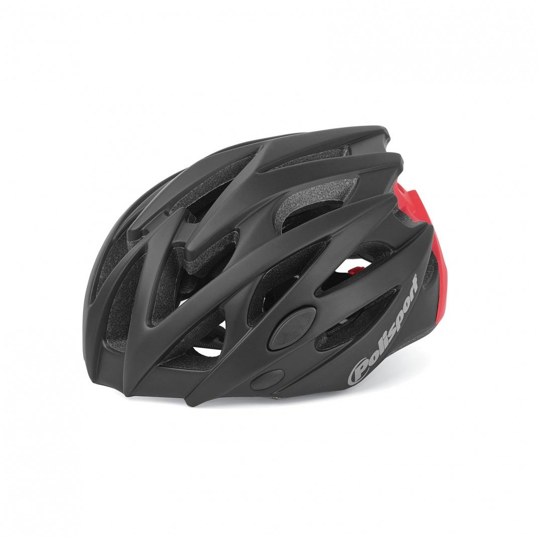 Twig - Casco para Ciclismo y MTB Negro y Rojo - Talla M