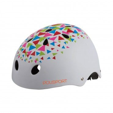 Urban Radical - Casco Skate-Style Blanco