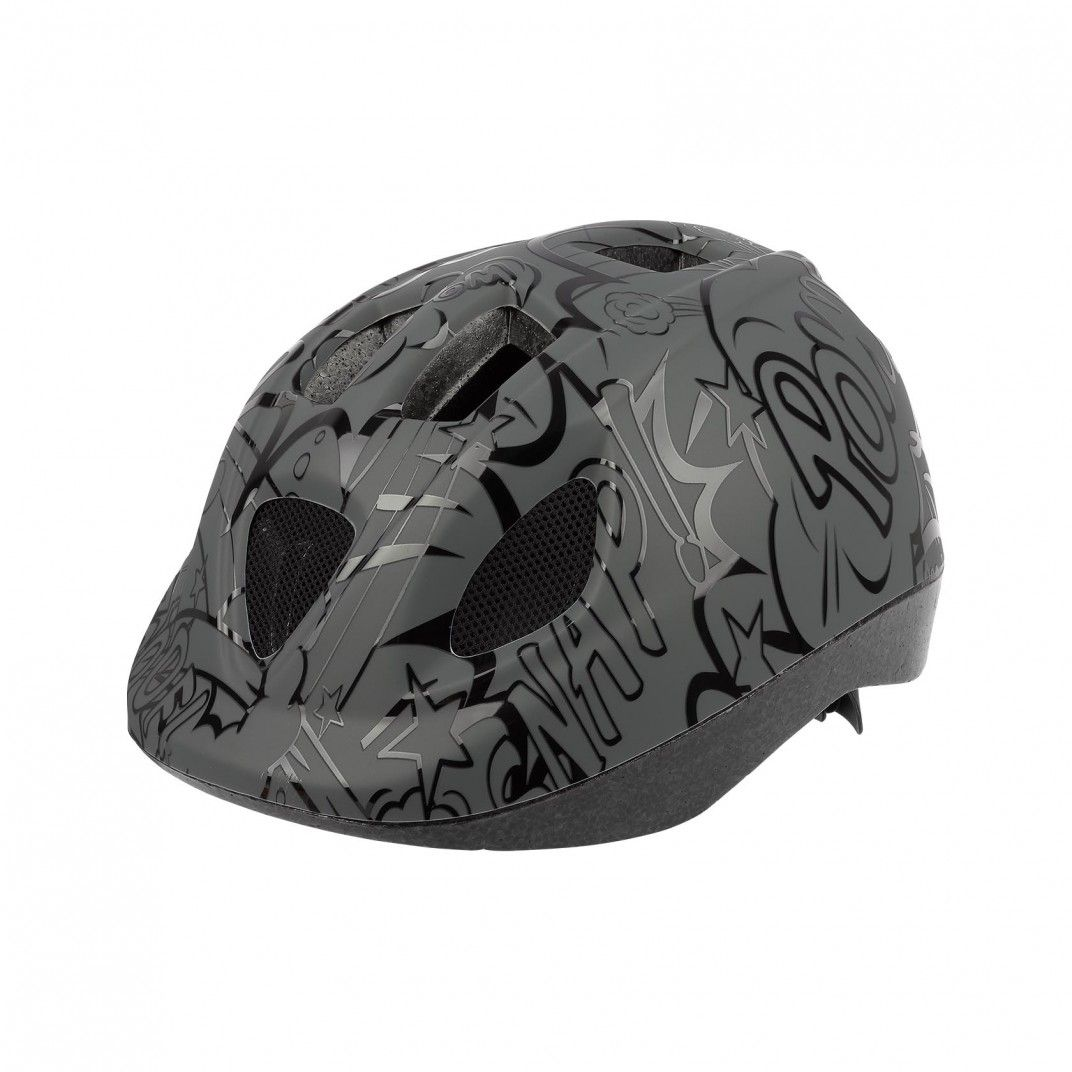 XS Kids - Bicycle Helmet for Kids Grey