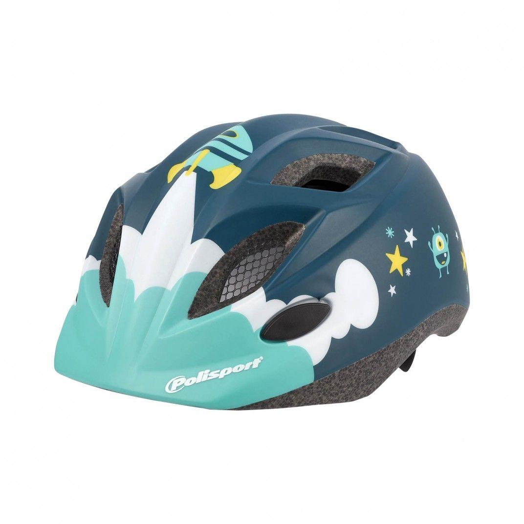 XS Kids Premium - Casque de Vélo pour Enfant Bleu