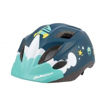 XS Kids Premium - Casco per Bicicletta per Bambino Blu