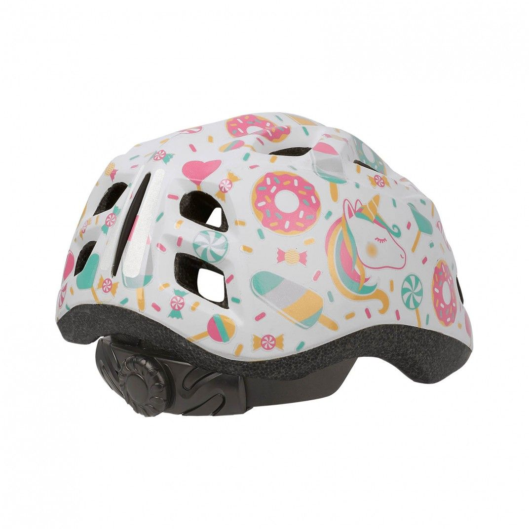 XS Kids Premium - Bicycle Helmet for Kids White and Pink