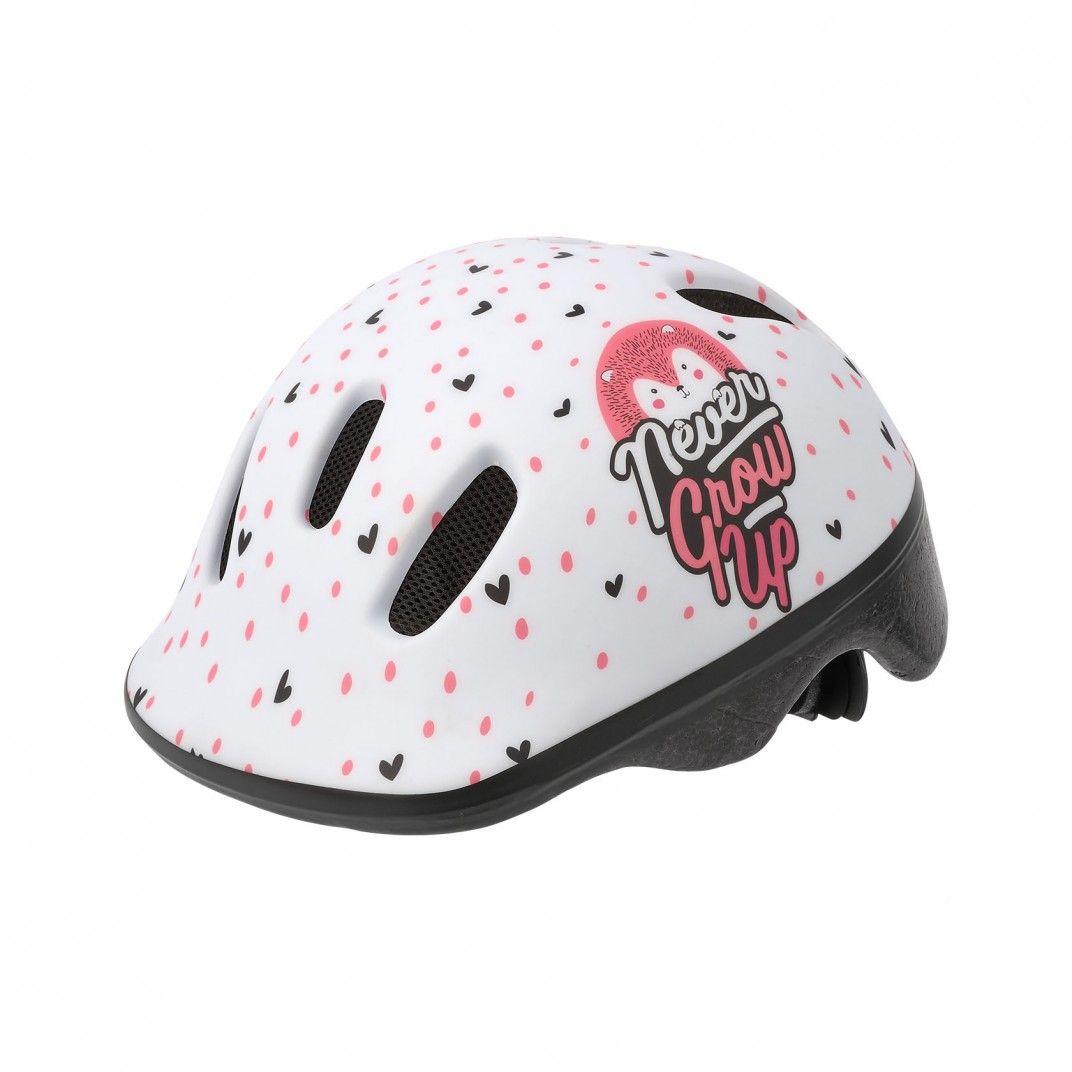 XXS Baby - Casco per Bicicletta Bianco e Rosa