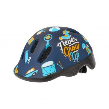 XXS Baby - Bicycle Helmet for Babies Blue and Yellow