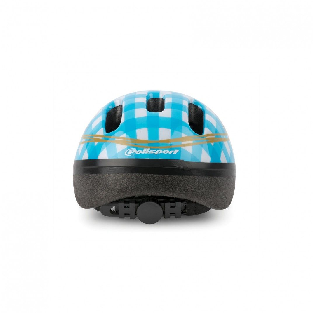 XXS Baby - Casco per Bicicletta Bianco e Blu
