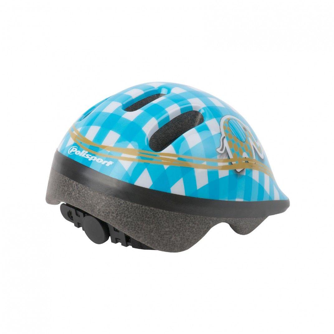 XXS Baby - Casco de Bebé para Bicicleta Blanco y Azul