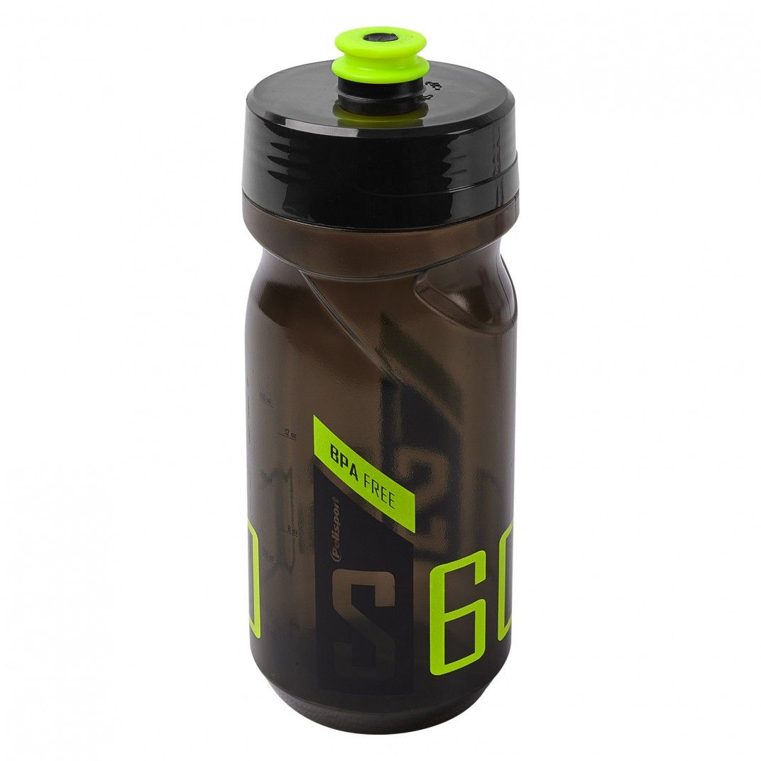 Screw-On Bottle S600 Black/Lime Green