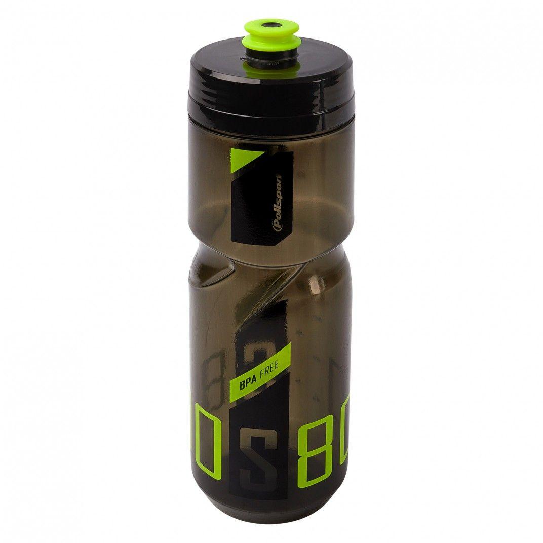 Screw-On Bottle S800 Black/Lime Green