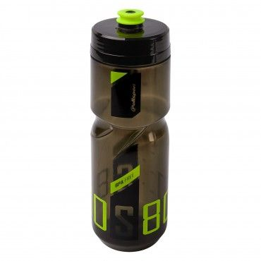 Screw-On Bottle S800 Black/Lime Green