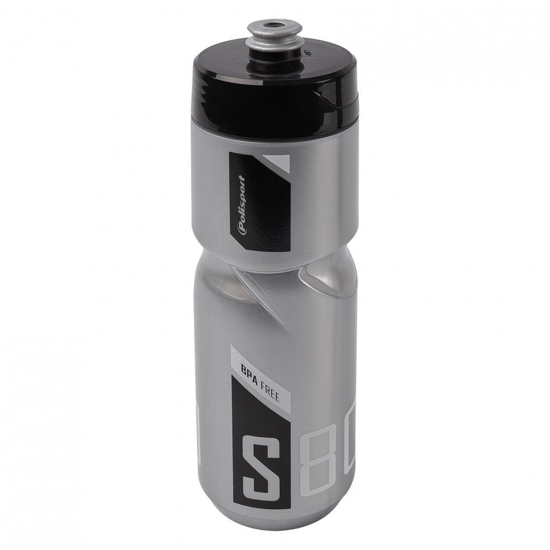 Trinkflaschen S800 Klar und Grau