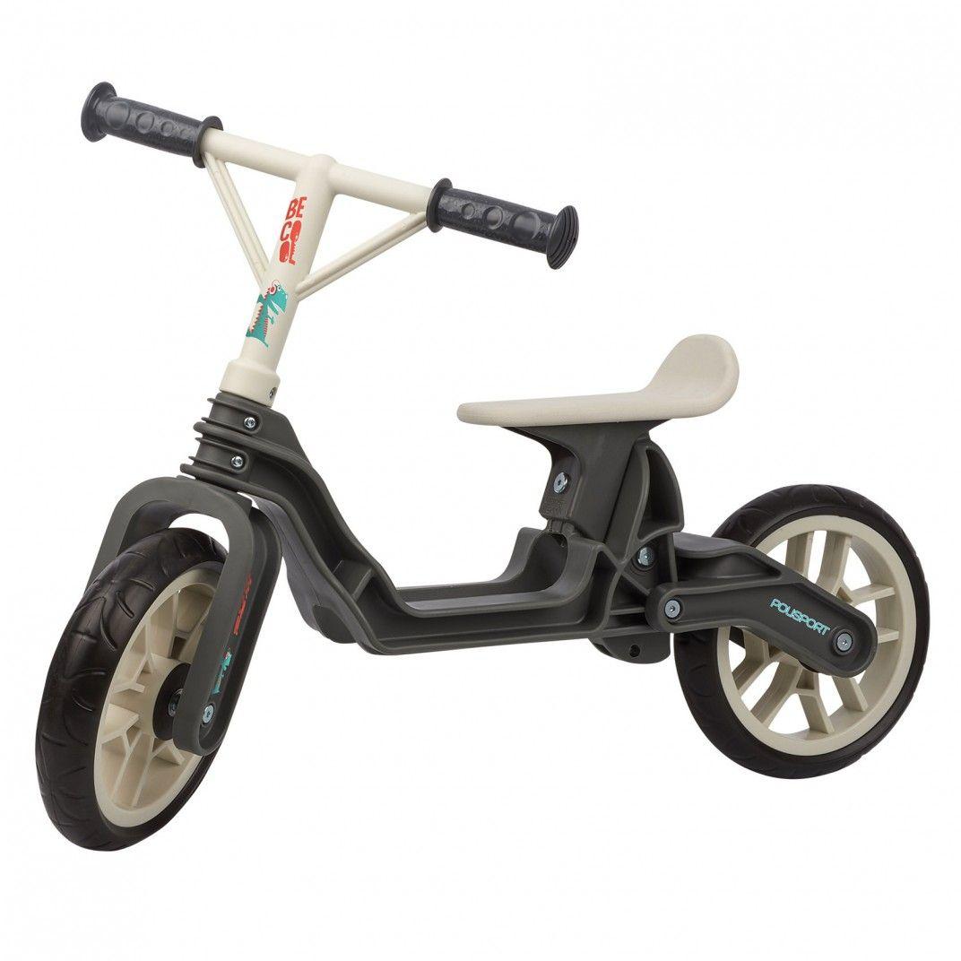 Balance Bike - Bicicleta Infantil de Aprendizagem Cinzenta e Bege