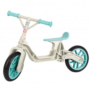 Balance Bike - Learning Bicycle for Kids Cream and Mint