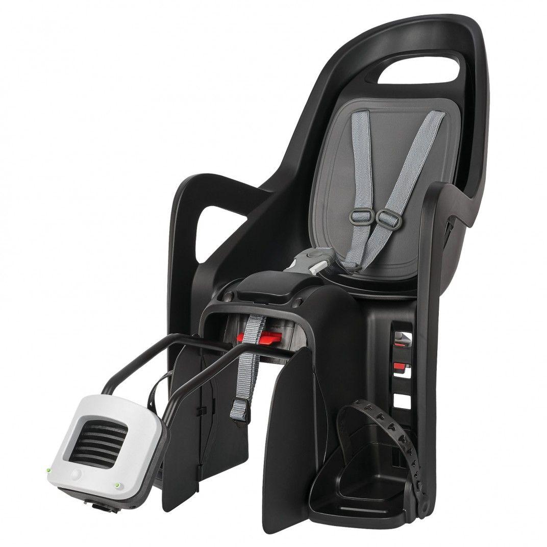 Groovy RS Plus - Cadeira de Bicicleta Reclinável Preta