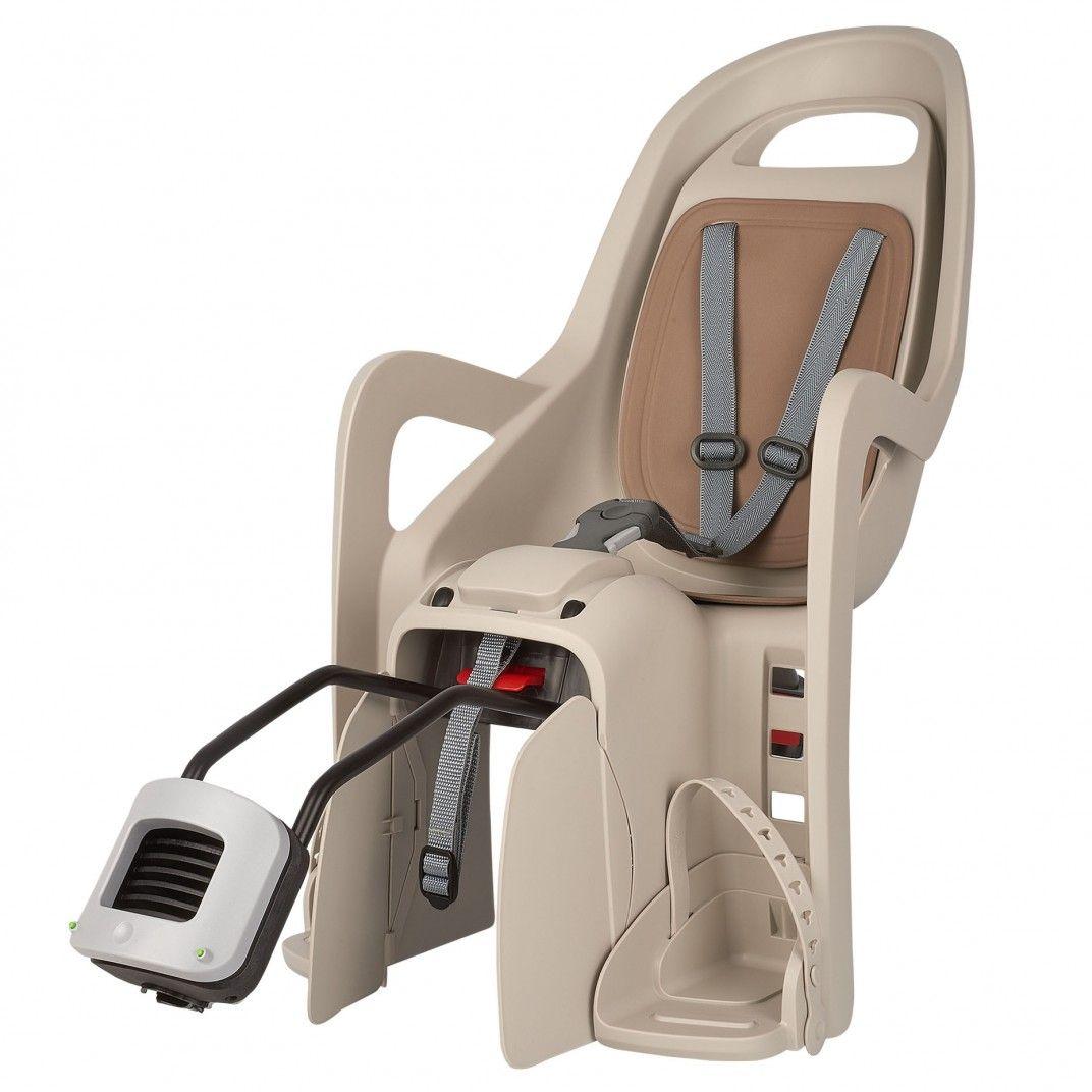 Groovy RS Plus - Cadeira de Bicicleta Reclinável Bege e Castanha