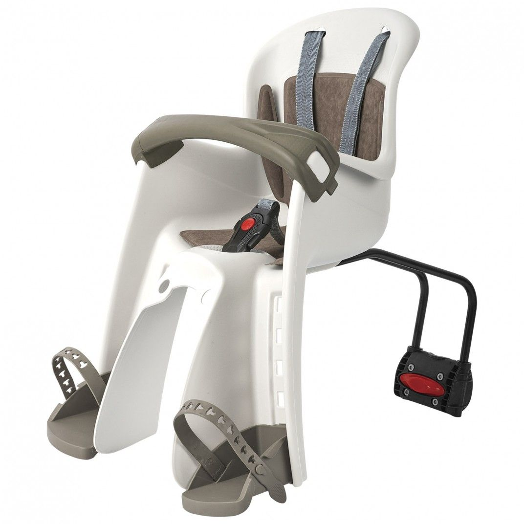 Bilby Junior FF - Cadeira para Bicicleta de Fixação ao Quadro Bege e Castanha