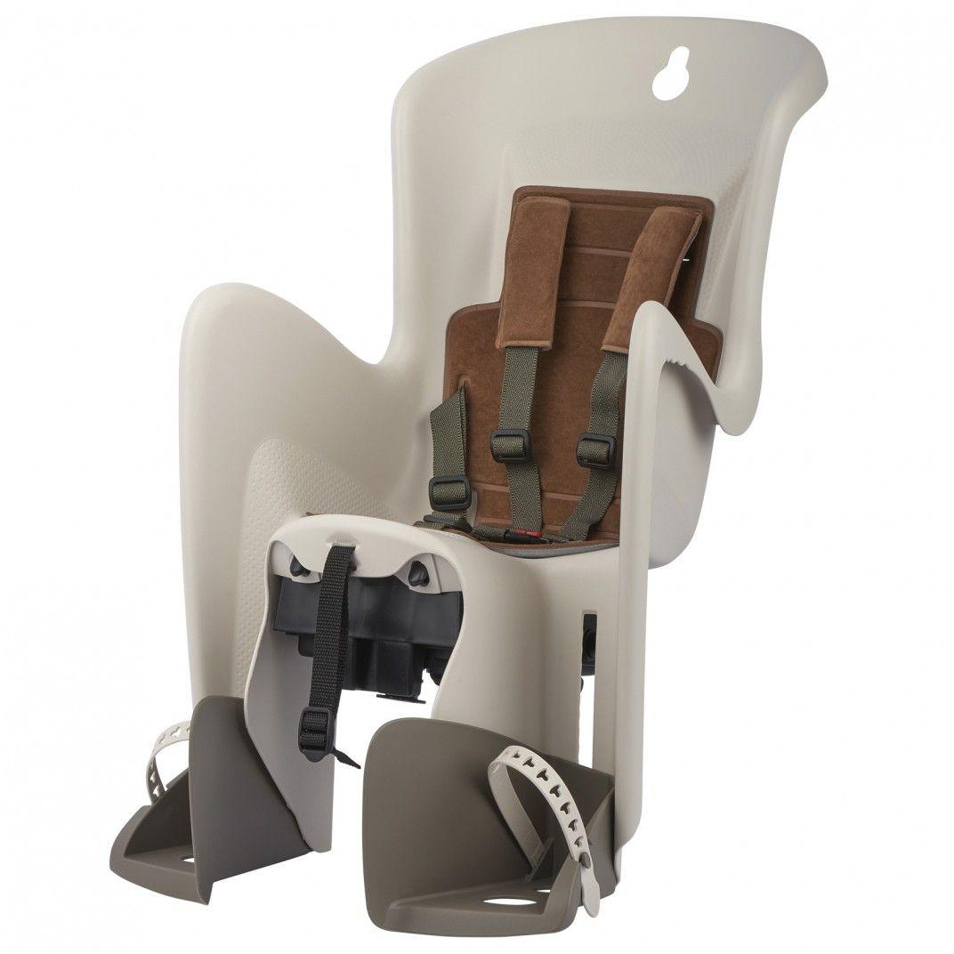 Bilby Maxi CFS - Cadeira para Bicicleta de Fixação ao Porta-Bagagem Cinzenta