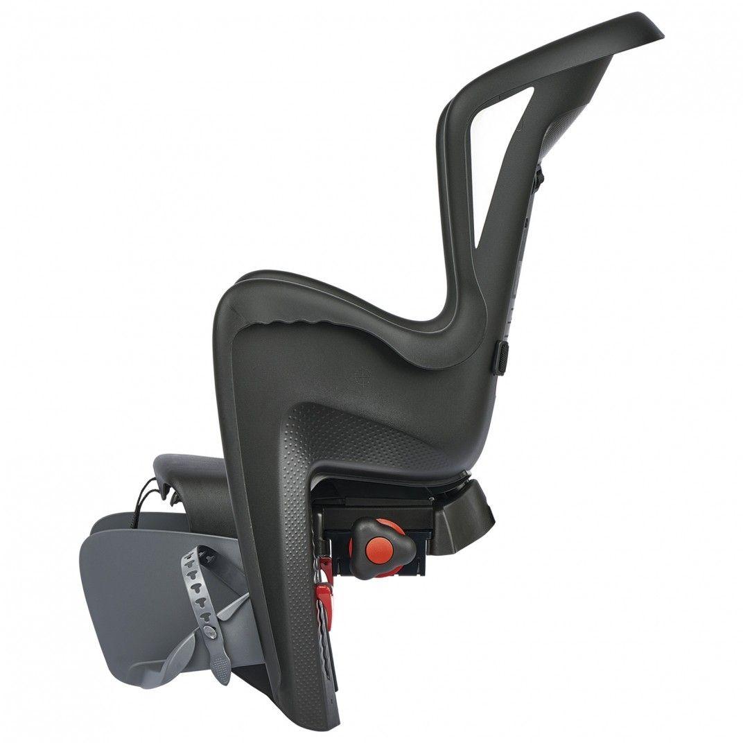 Bilby Maxi CFS - Fahrradkindersitz Schwarz für Gepäckträger