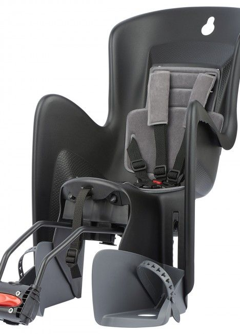 Bilby Maxi RS - Reclining Child Seat Black and Dark Grey for Bicycle