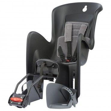 Bilby Maxi RS - Portabébé Negro con Sistema de Montaje Reclinable