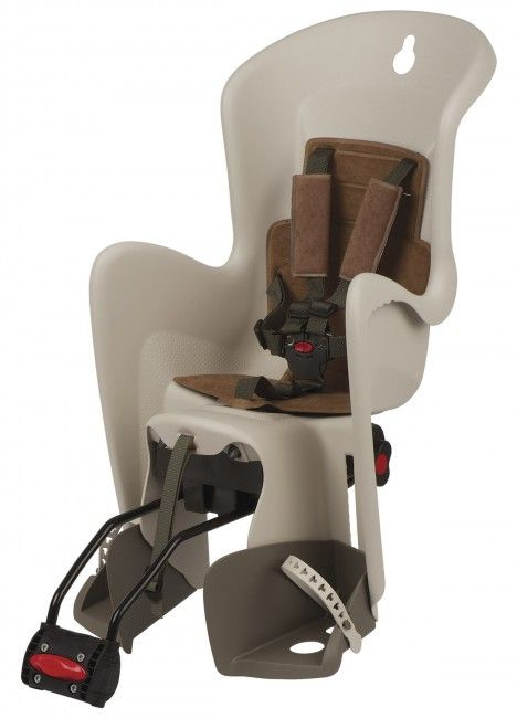 Bilby Maxi RS - Reclining Child Seat Cream and Brown for Bicycle