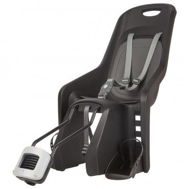 Bubbly Maxi - Child Bike Seats Black for Small Frames and 29Ers