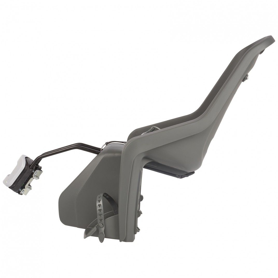 Bubbly Maxi FF - Rear Child Bicycle Seat Grey and Brown