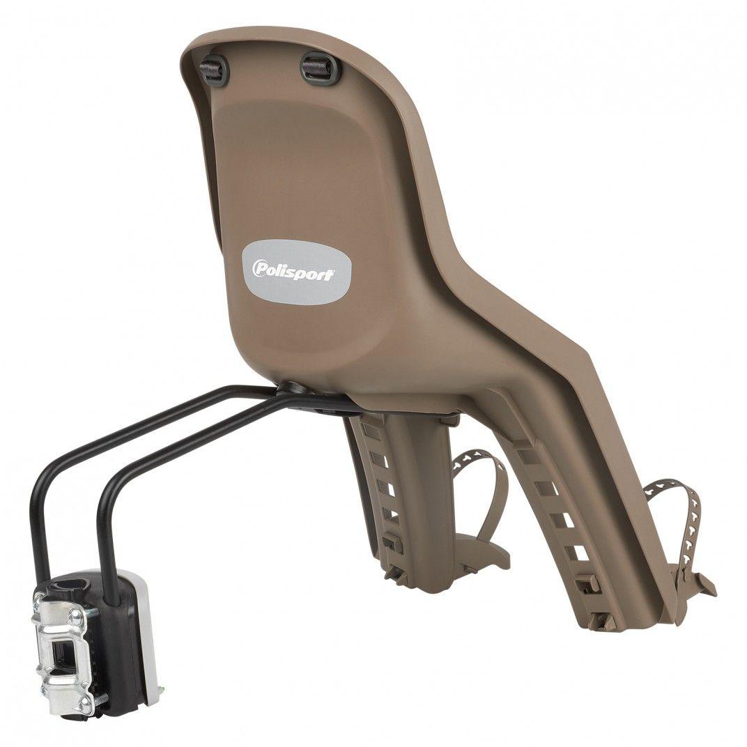 Bubbly Mini FF - Cadeira para Bicicleta para Fixação ao Quadro Castanha e Verde