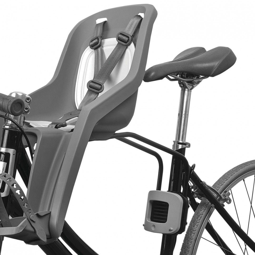 Bubbly Mini FF - Seggiolino Bicicletta Marrone e Verde Pastello per Montaggio su Telaio
