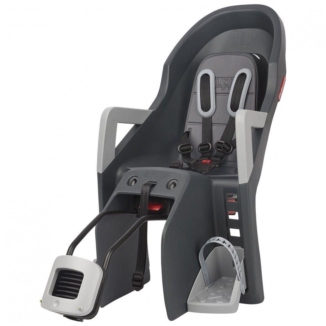 Guppy Maxi RS Plus - Rear Reclining Child Seat Dark Grey for Bikes
