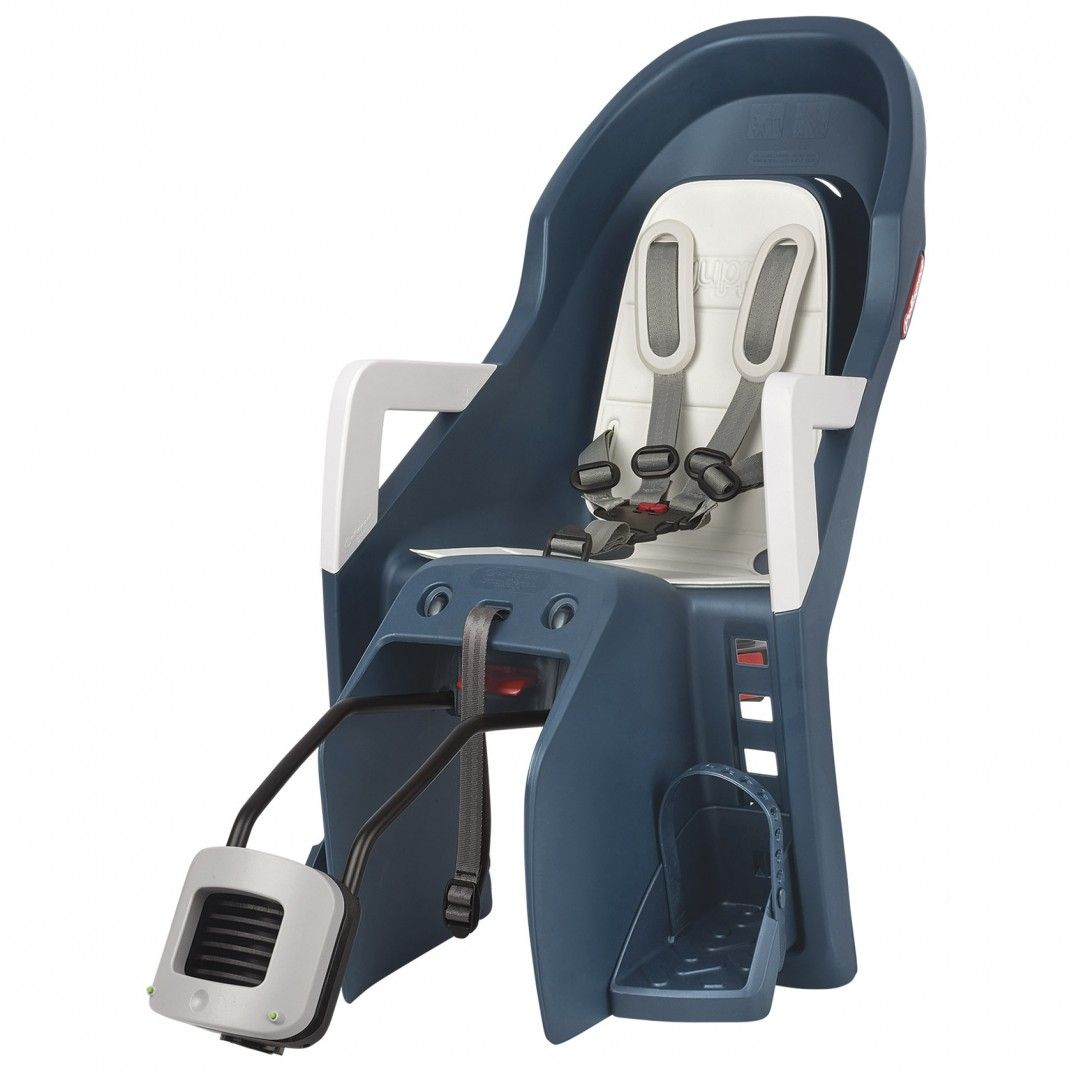 Guppy Maxi RS Plus - Rear Reclining Child Seat Jeans and Cream for Bikes