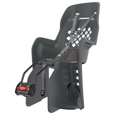 Joy FF - Cadeira para Bicicleta de Fixação ao Quadro Cinzenta
