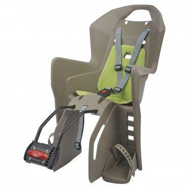 Koolah FF - Cadeira para Bicicleta de Fixação ao Quadro Castanha e Verde