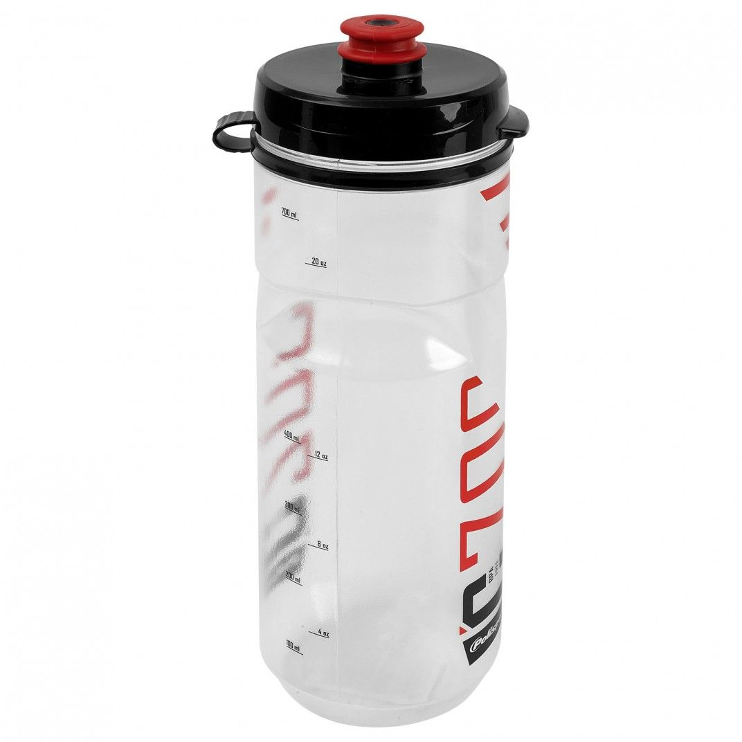 Clip-On Bottle C700 Clear and Red