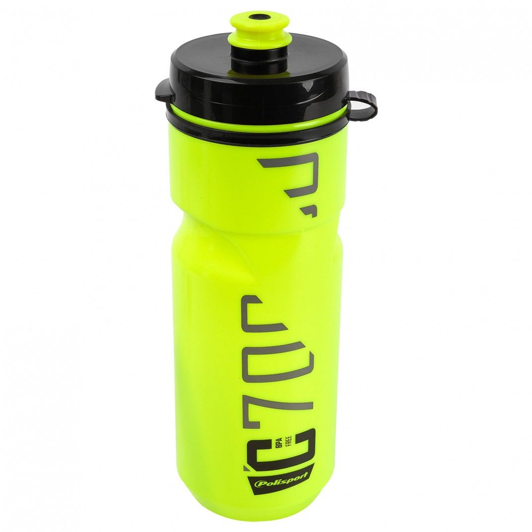 Clip-On Bottle C700 Lime Green and Black