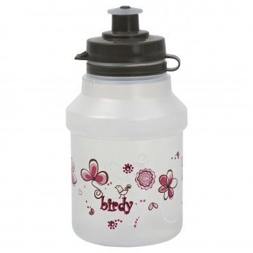 Water Bottle for Kids Pink and White