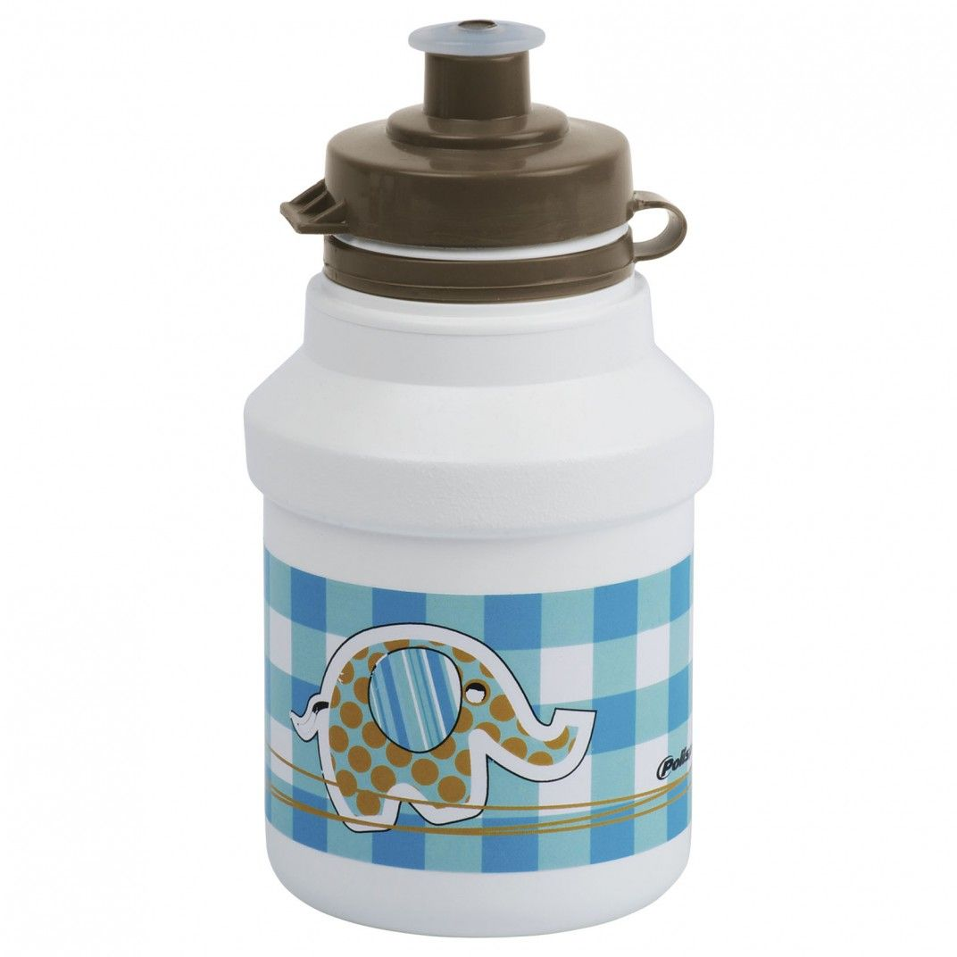 Water Bottle for Kids Blue and White