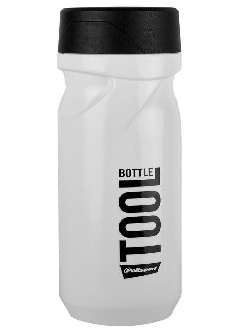 Tool Bottle White and Black